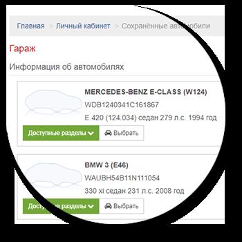 0edb169e384 Данный функционал позволит вашим покупателям сохранять свои транспортные  средства в личном кабинете для последующего быстрого поиска запчастей.